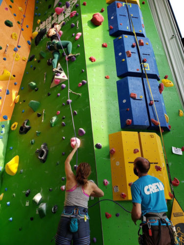 Lessons Learned from the Covid Crisis (Vol 1): lead climbing at On The Rocks