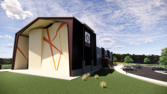 Outdoor and indoor climbing at the new Longmont gym
