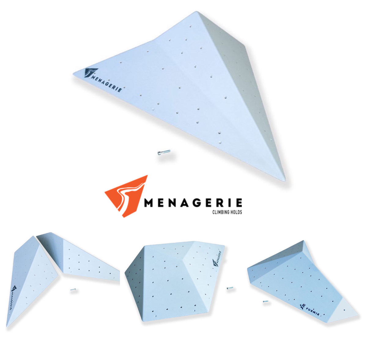 Menagerie Climbing Holds