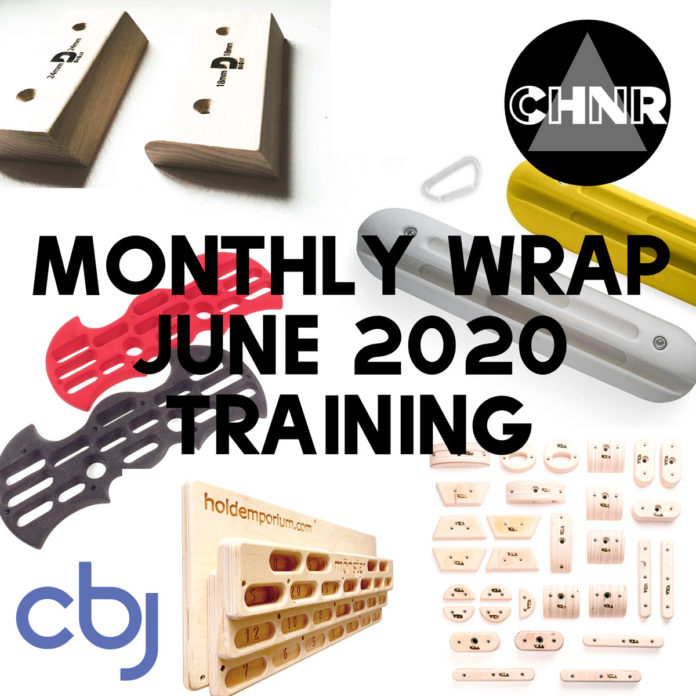 CHNR June Wrap Training Equipment