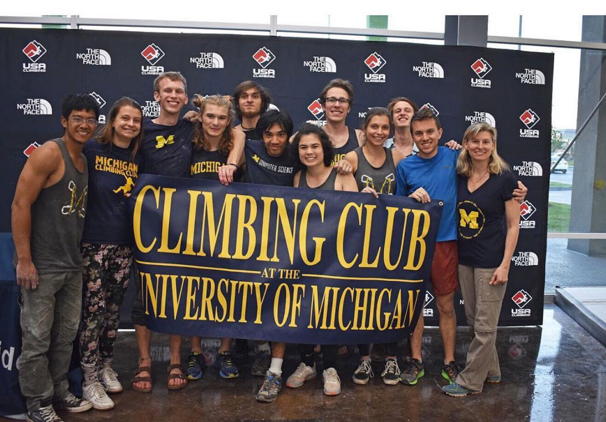 University of Michigan Climbing Team