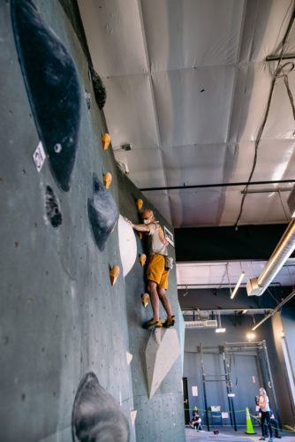 More climbing at this year's competition