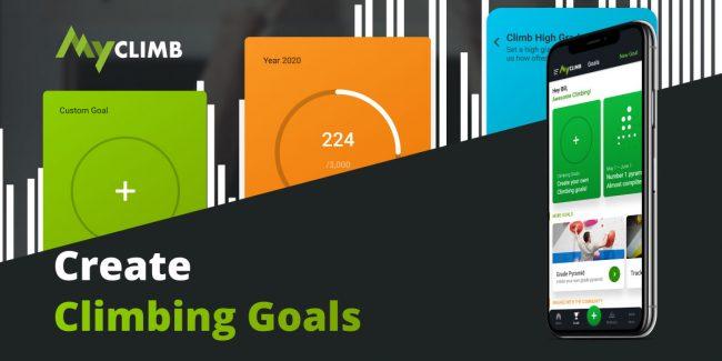 MyClimb Climbing Goals
