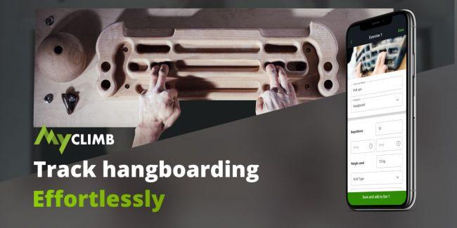 MyClimb's Hangboarding Tracker