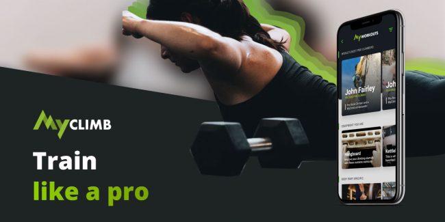 MyClimb's Pro Workouts
