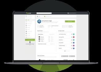 Climbing Leagues Digital Solution - MyClimb App Dashboard