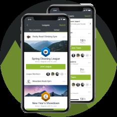 MyClimb App - League Registration