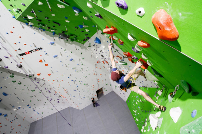 Onsight also has a reservation system to space out climbers