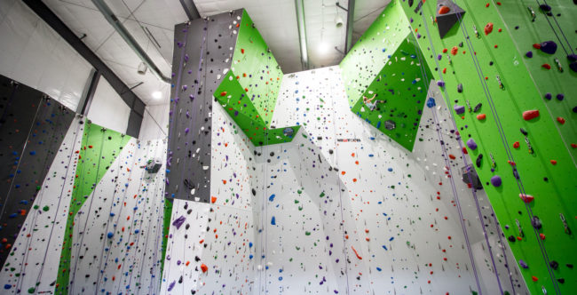 Some climbing gyms are reopening now, including Onsight Climbing in Knoxville, Tennessee