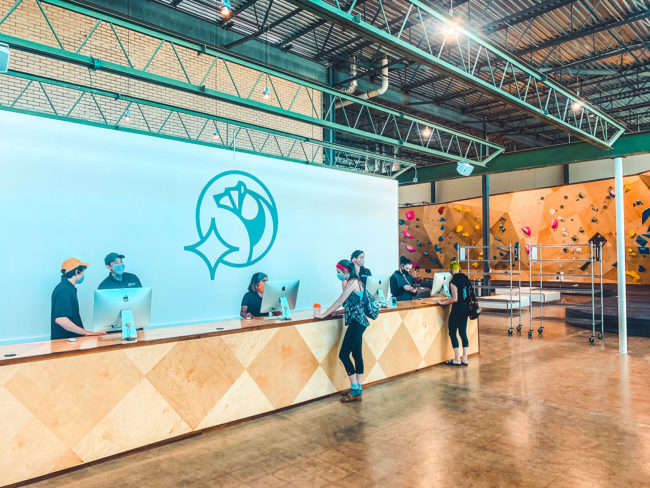 Grand openings in a pandemic age aren't easy, but multiple gyms are taking on the challenge (including Climb Oso pictured here).