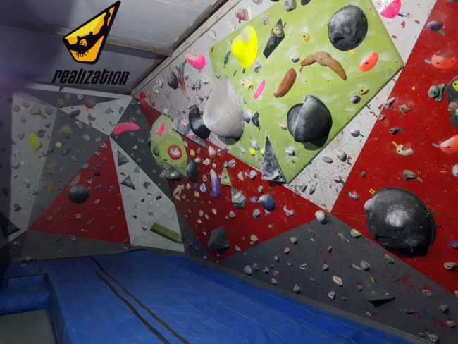 Realization Escalada, pictured here, is one of the gyms in South America that will use a reservation system.