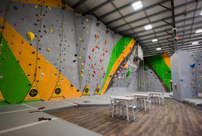 Behind the closure at Regina Climbing Centre, reopening soon in Canada.