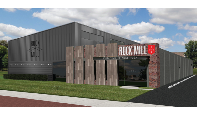 Rock Candy's new bouldering gym, the Rock Mill.