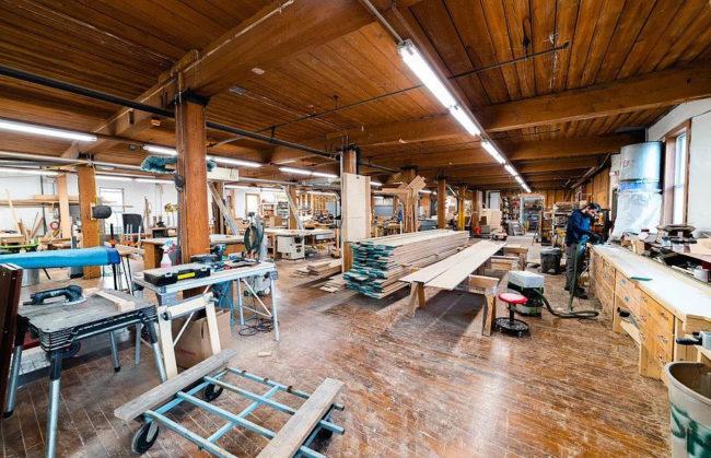 Rockstar Volumes woodworking shop