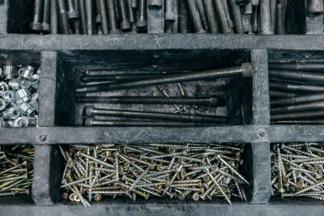 Tool box of a setter