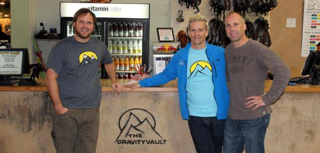 Walsh, Kovalcik and Sam Wright. Photo: Gravity Vault