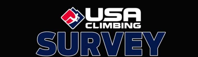 USA Climbing survey