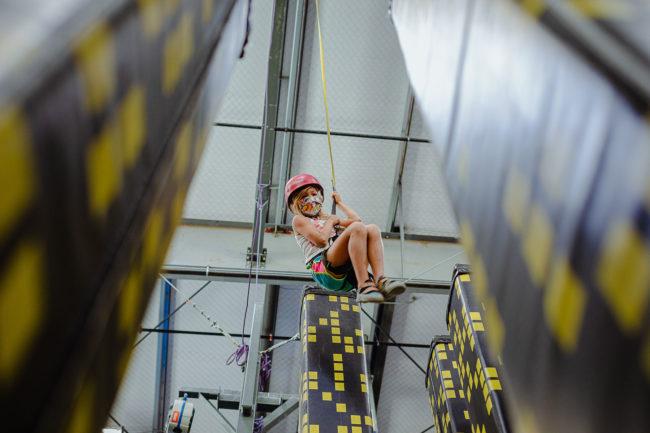 Climbing at Sender City