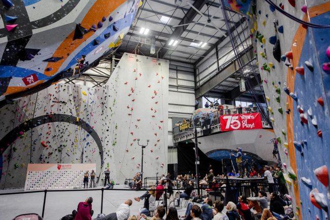 Sender One Paraclimbing World Cup Host