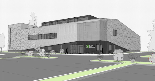 Evo Louisville, Co building rendering.