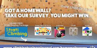 Strati Climbing Home Wall Survey