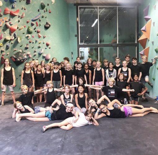 Team Texas at a Summer Youth Program