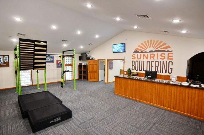 "New ""Boutique-Style"" Sunrise Bouldering Gym"