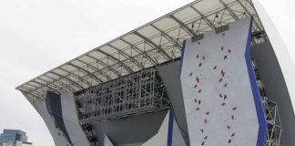 Entre Prises climbing walls for Tokyo Olympics