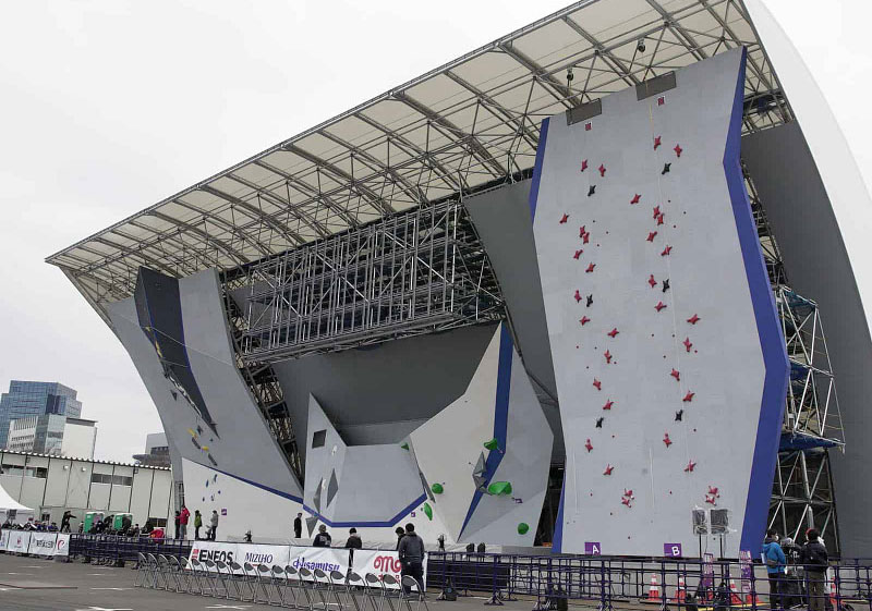 Tokyo Olympic Games climbing walls by Entre-Prises