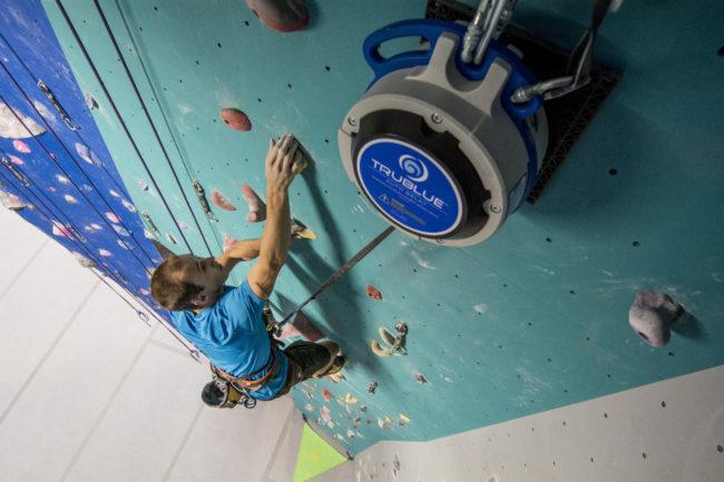 USA Climbing announces auto belay partnership with TRUBLUE