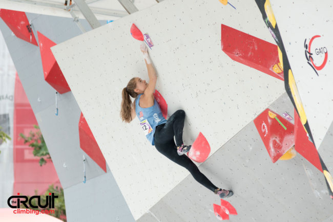 Climbing at The World Games Wroclaw
