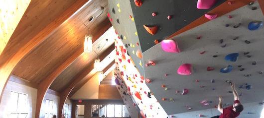 Indiana Gym Takes Climbing To Church