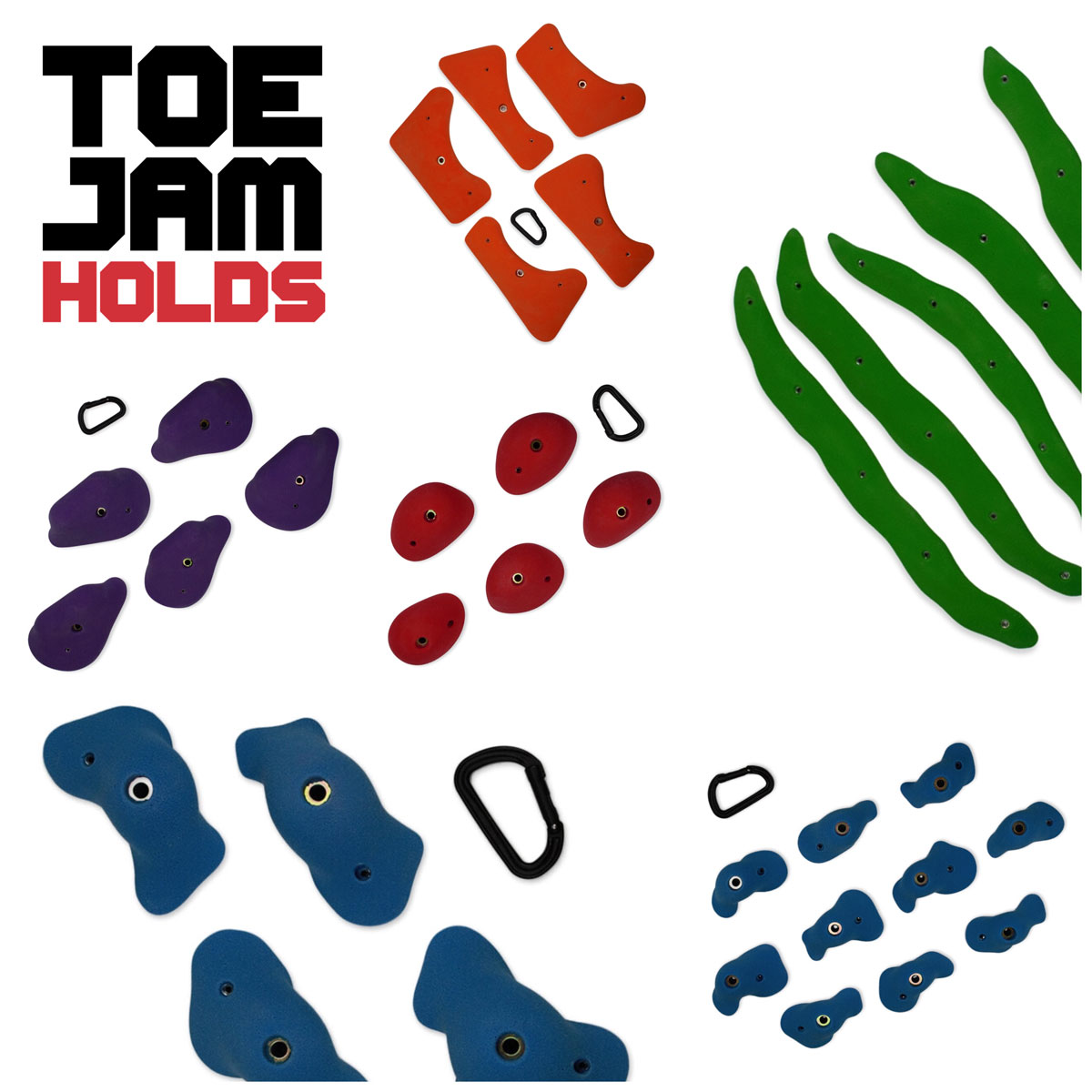 Multiple series from Toe Jam Holds