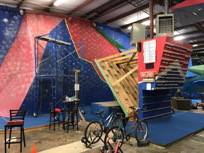 Georgia gyms were given permission to reopen, and Treadstone Climbing plans to do so.