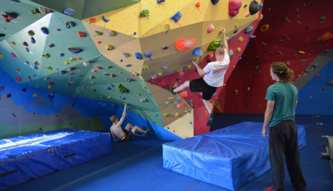 Treadstone Climbing is also among the climbing gyms who are reopening now and applying social distancing measures