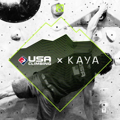 USA Climbing and KAYA partnership
