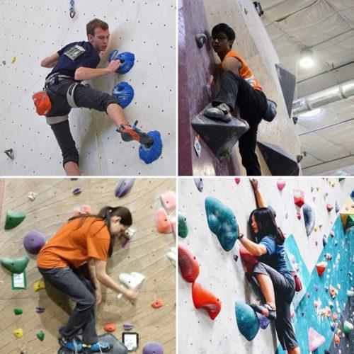 USA Climbing's Collegiate Climbing Ambassador Scholarship winners of 2020
