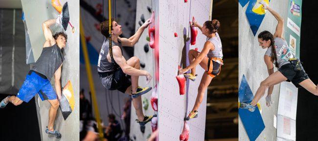 America's four climbing Olympians