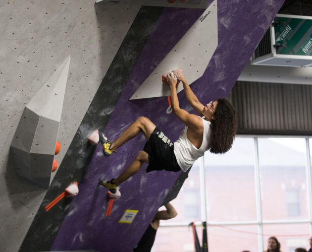 More Bouldering at ASCEND, with a Camfil CamCleaner in the background