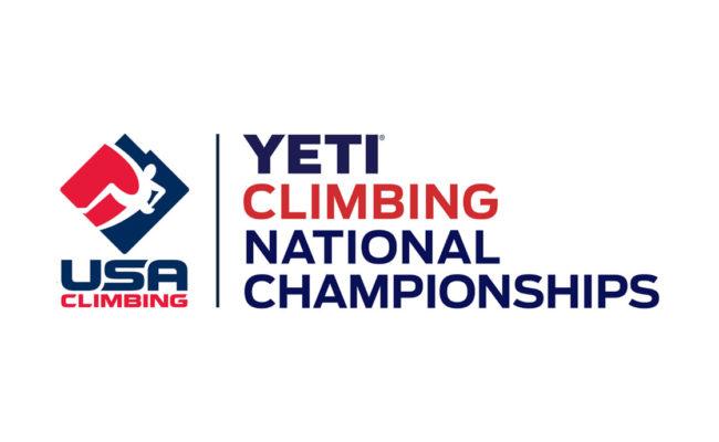 USAC Yeti Climbing National Championships logo