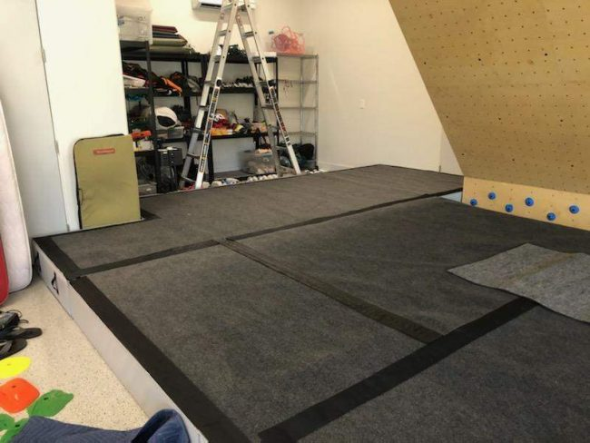 Homewall with Strati padding