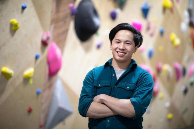 Uplift's founder Andrew Hou