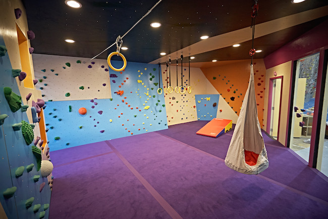 New Vertical Adventures training area.  Photo: VA