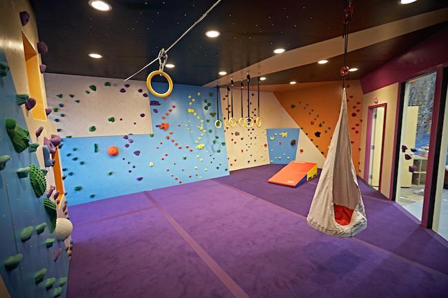 New Vertical Adventures training area.  Photo: VA