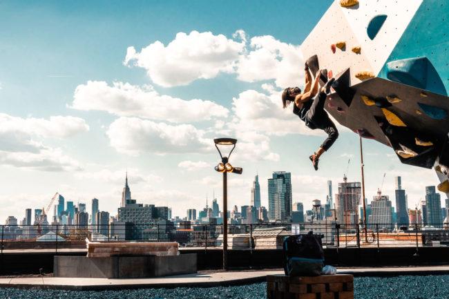 VITAL Brooklyn gym rooftop in New York