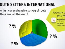 Vertical Life route setter survey
