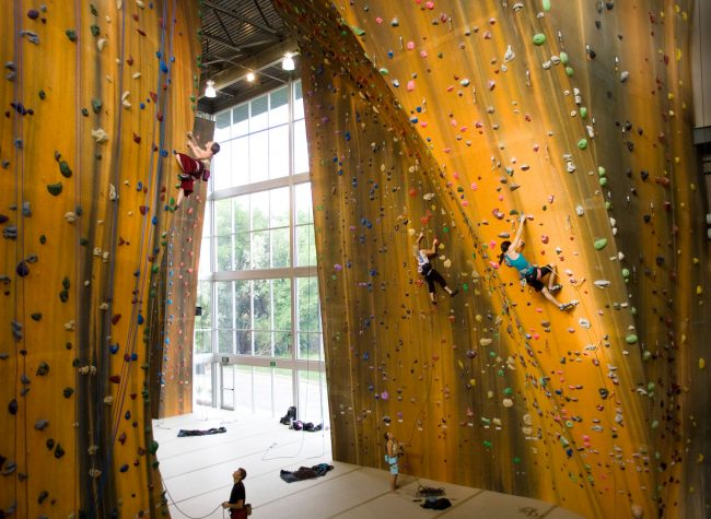 First Walltopia Climbing Gym in the USA
