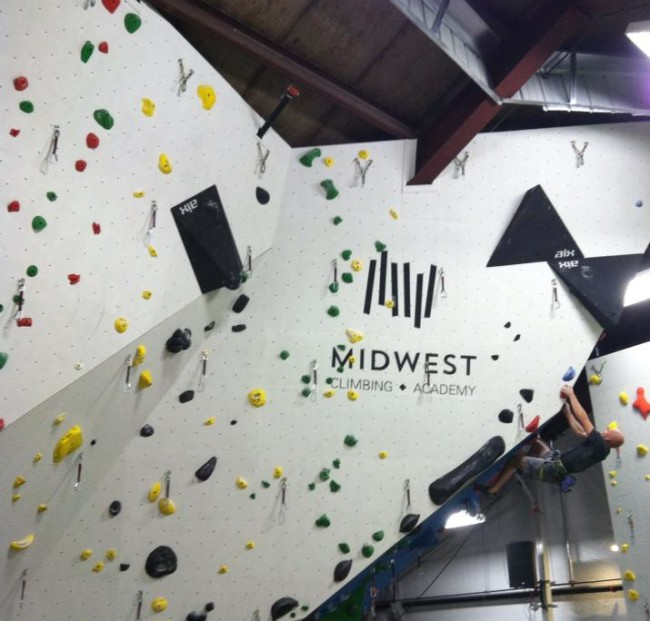 Photo: Midwest Climbing Academy