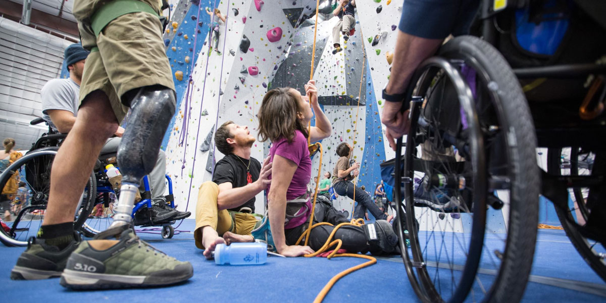 adaptive climbers by Cody Sowa
