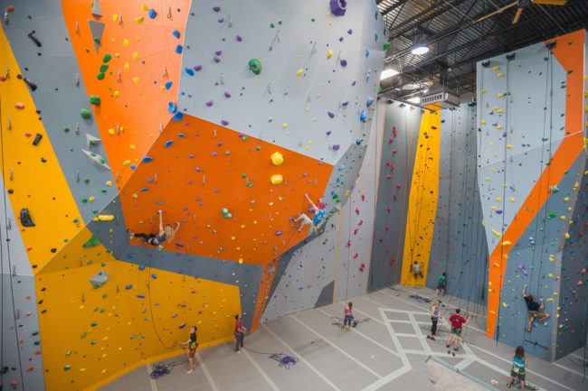 Alaska Rock Gym saw a major upgrade with their new EP-built gym.